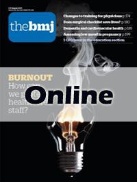 《英国医学杂志》:Online/在线发表