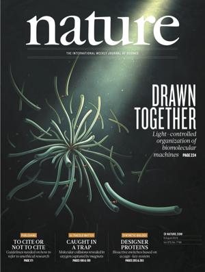 《自然》:Volume 572 Issue 7768