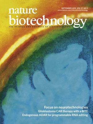 《自然—生物技术》:Volume 37 Issue 9