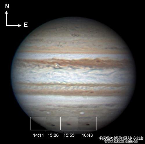 """木星扮演着地球的""""保护伞"""""""