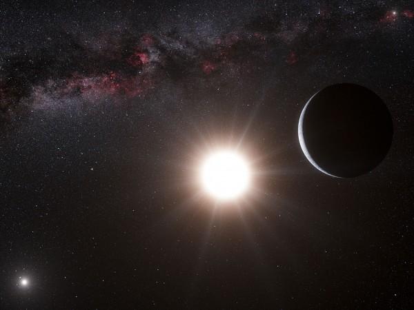一恒星7万年前与太阳擦肩而过